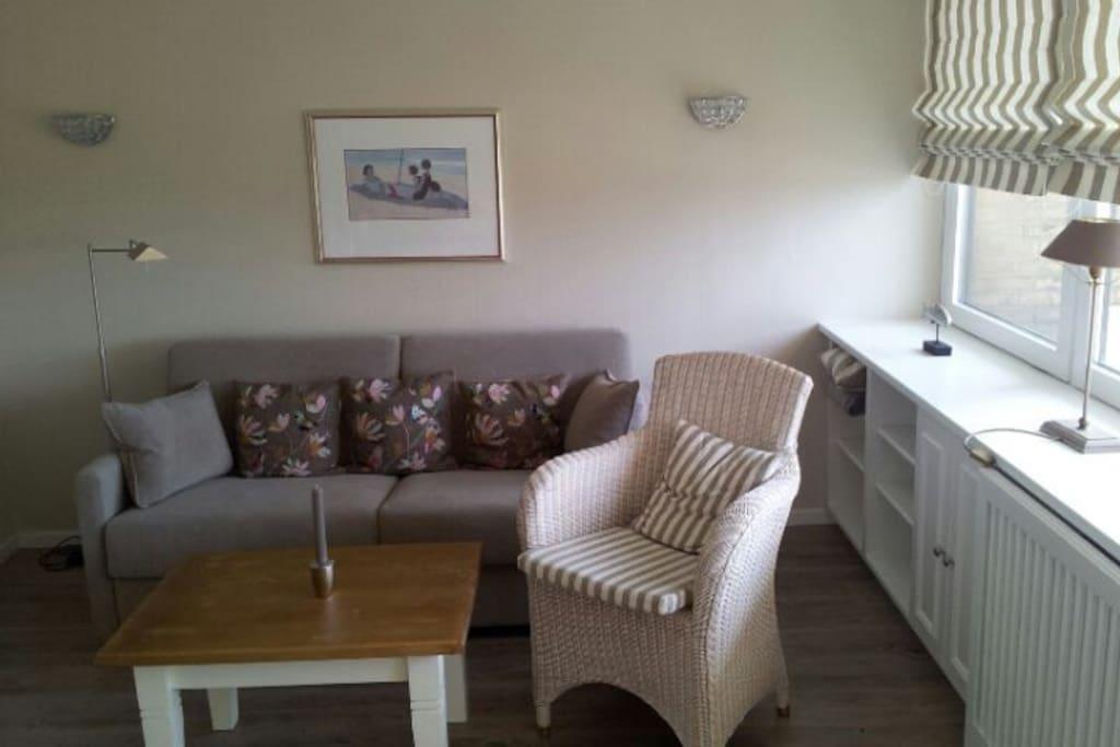 Gemuetliche ferienwohnung strandnah apartments for rent for Schlafsofa donald