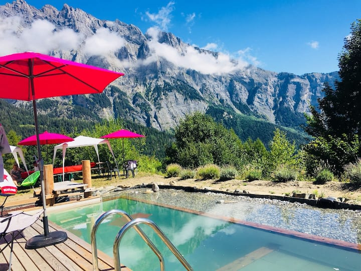 Little paradise in the heart of the Valais Alps