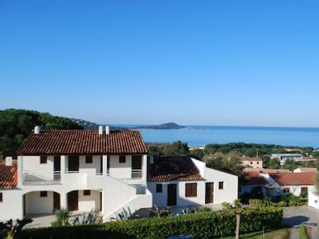 studios avec vue mer, plage a 400m - Albitreccia - Apartament