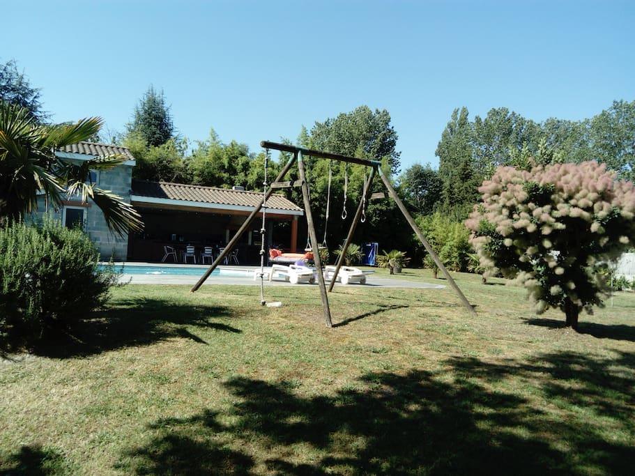 jardin et cuisine d'été