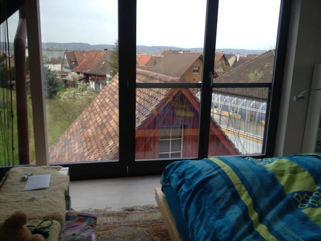 Hausteil-wundervolle Bodenseesicht  - Ermatingen - House