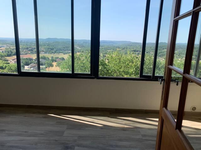 Sublime studio avec terrasse