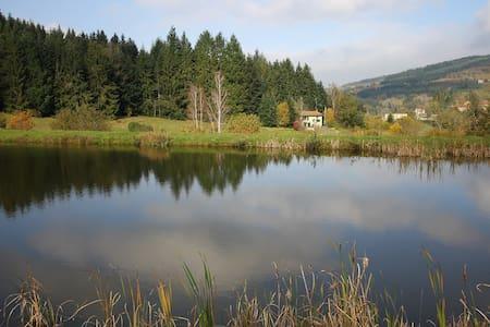 Maison au bord d'un étang - Poule-les-Écharmeaux - Casa