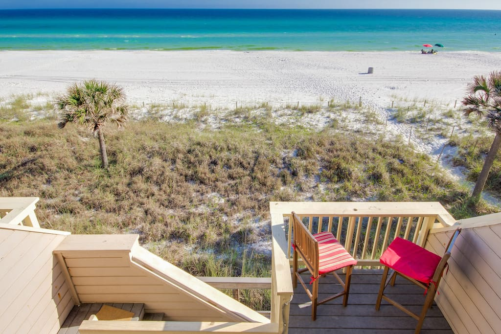 Welcome to Vitamin Sea, a Gorgeous Gulf-Front Townhouse in Panama City Beach, Florida!