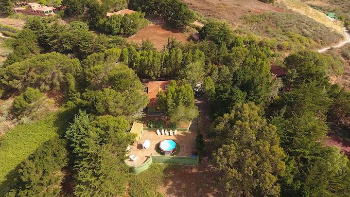 Casa Rural El Poleo Dr. Rosas con piscina privada