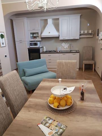 Appartamento in villa a soli 50 metri dal mare