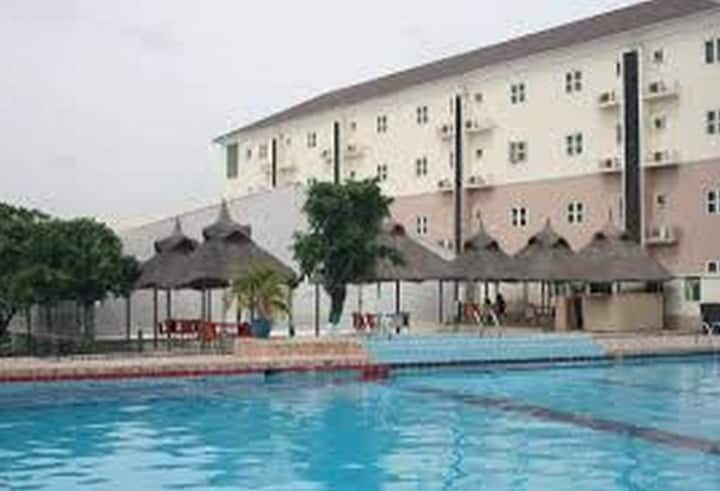 Aes Luxury Apartments is a top-class hotel in Jabi, Abuja.