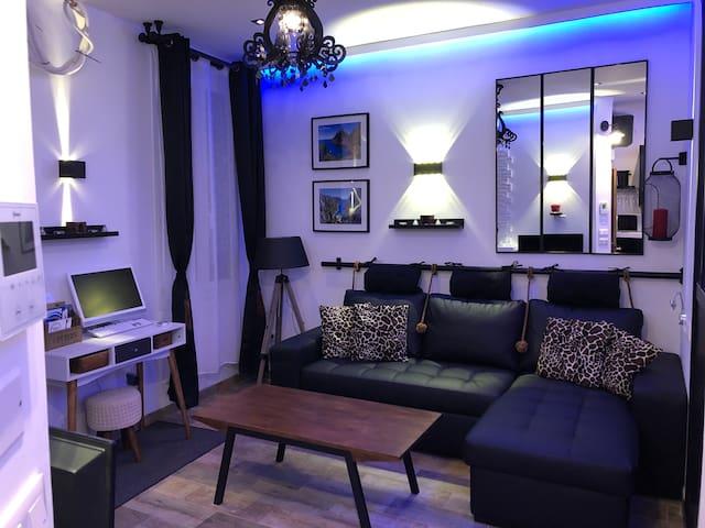 Agréable studio romantique centre ville la ciotat