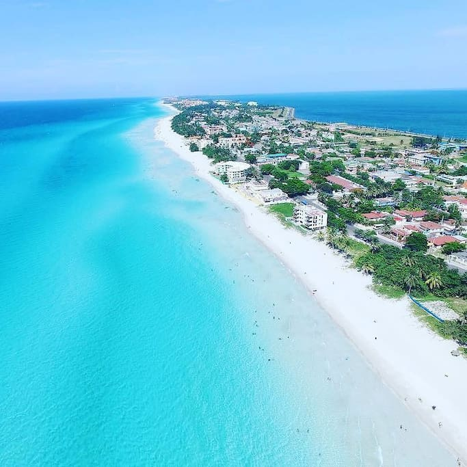 Panoramic view! the most beautifull beach in the World.. Varadero.
