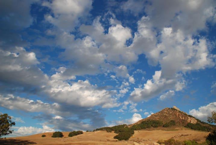 View of Bishop's Peak