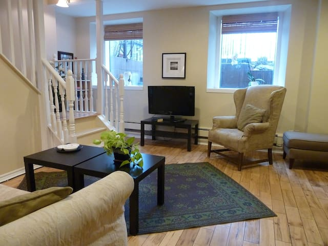 Historic Downtown 2 Bedroom Elegant Apt