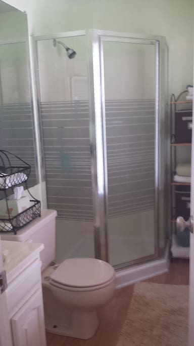 Private bathroom/with shower