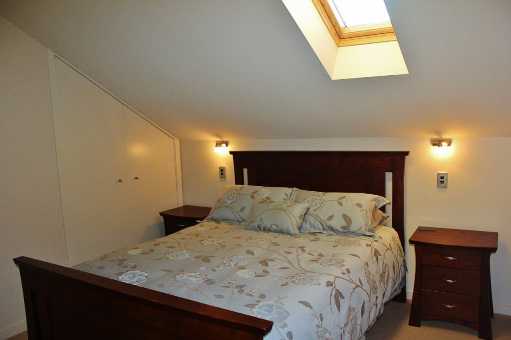 Bedroom 1 with skylight feature