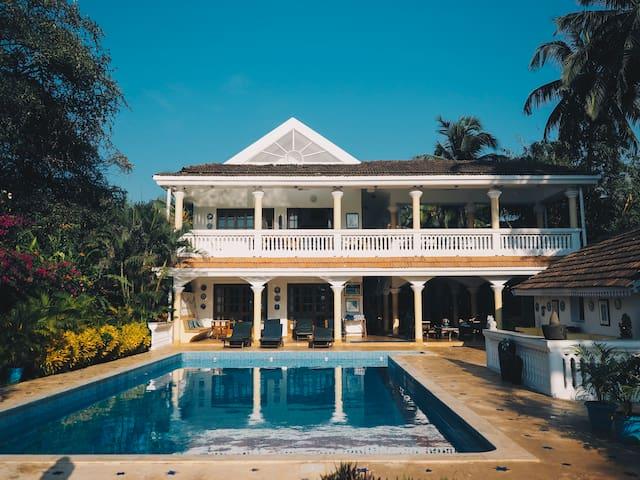 Beachfront 7 BDR Luxury Villa With Private Pool.
