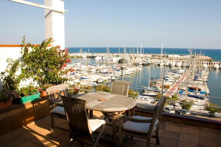 Apartamento Sitges vista al mar