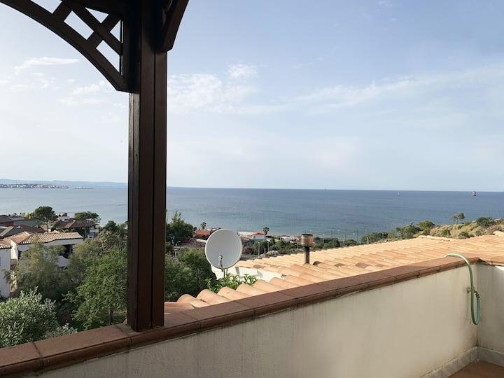 Casa Bellavista - terrazzo vista mare
