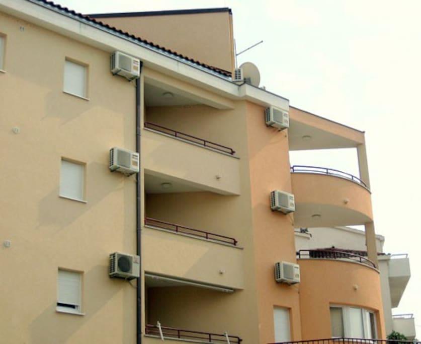 Top right balcony
