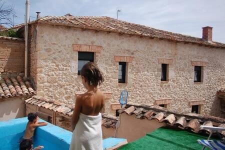 La casa del barbero   - Canillas de Esgueva, Valladolid - Rumah