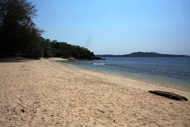 Nearest beach: 400 m from apartment