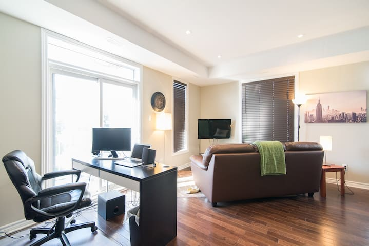 Private Room with Private Bathroom - Ottawa - Appartement