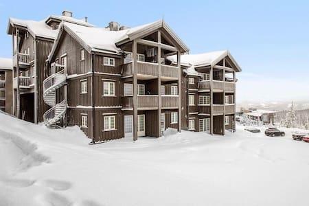 Trysilfjället Lägenhet 5 pers. Ski in/ski out.