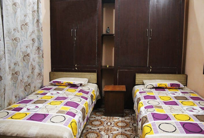 Uppal's PG TV A/c dual sharing room with breakfast