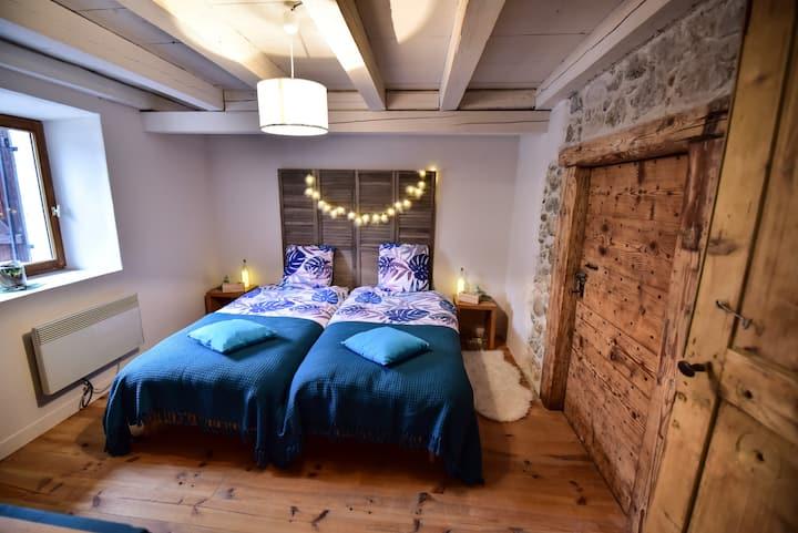 Maison Lodge au coeur du village d'Aillon