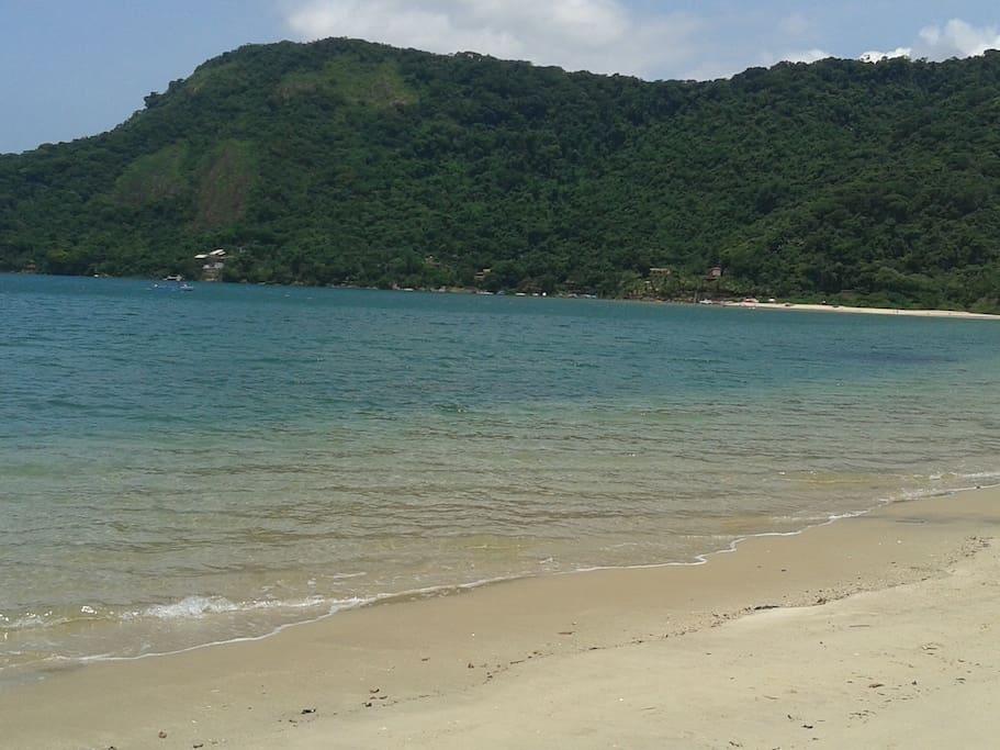 Praia de Paraty Mirim.