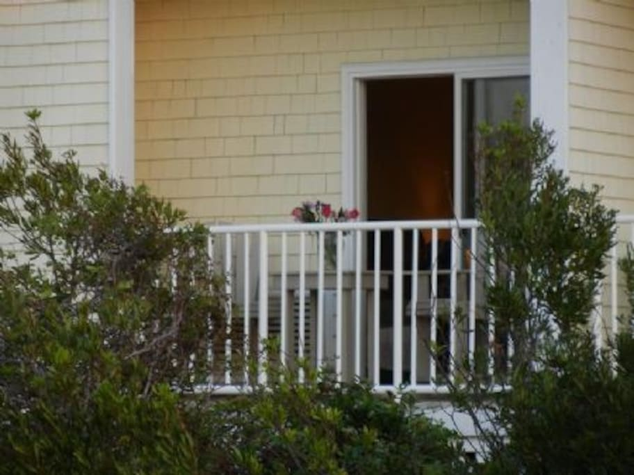 Your private balcony