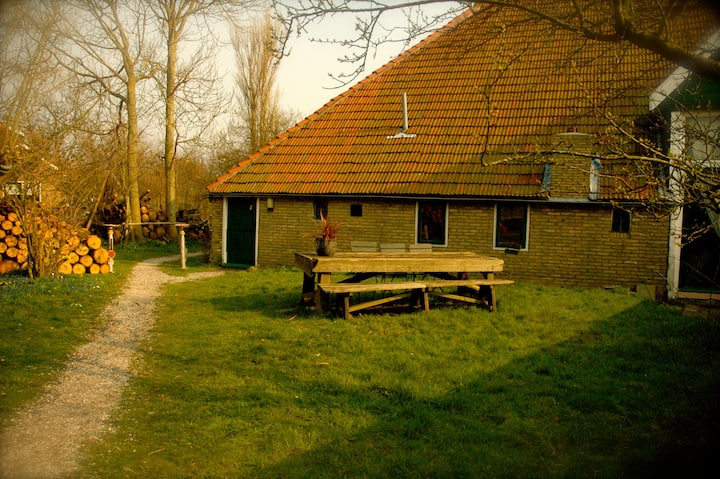 "Cottage ""Egypte op Terschelling"" & private garden"