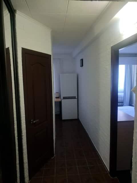 Светлая и чистая однокомнатная квартира.