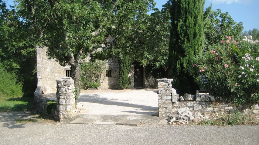 La Belgerie du Gard. - Saint-André-de-Roquepertuis - Haus