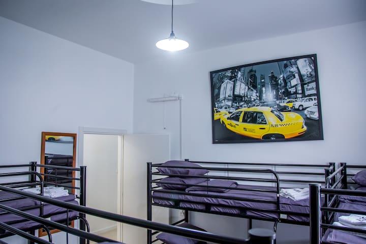 8 bed Women Dormitory Room