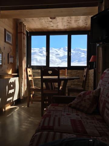 Appartement Vanoise,plein Sud 3 flocons or️️️ Valtho