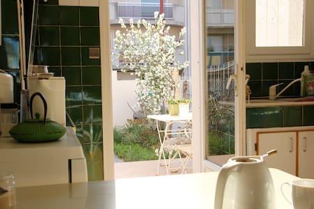 chambre 1 pers - Villa Jardin Accueil 5mn centre - Perpignano - Bed & Breakfast