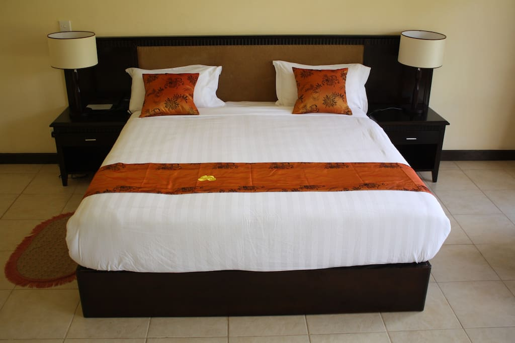 Our well designed King Bed