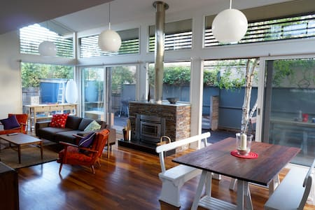 Architecturally designed 2 bed home - 巴望頭(Barwon Heads)