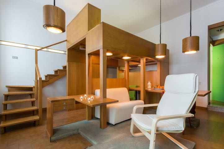 Mini Loft in Piazza Arbarello - Turin