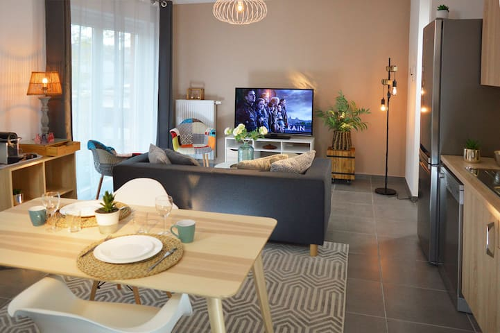 Businest apartments Gosselies-Charleroi Airport - 1-Bedroom Apartment