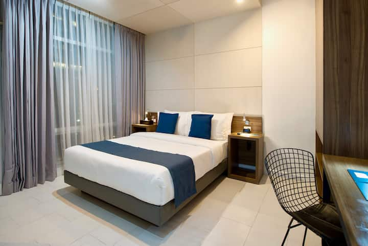 Industrial-Chic Executive Suite at Salcedo, Makati