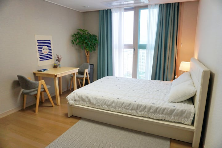 Two Spacious Rooms with a Great View @Chuncheon