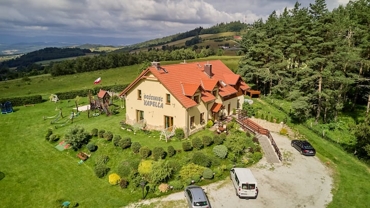 Rodzinny dom w górach-Kapella - Sudety Zachodnie