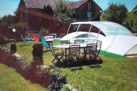 Gîte  maison campagne avec piscine - La Salvetat-Peyralès - Talo