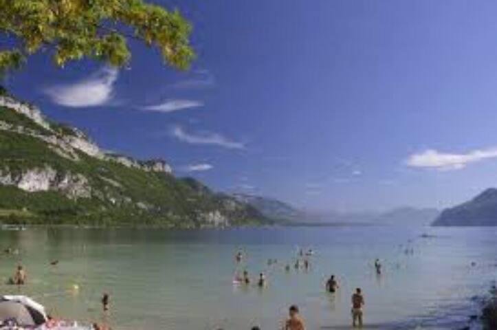 3 chambres ds maison famille -Lac du Bourget 73