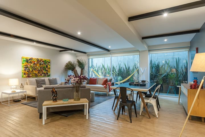 Uppermost 3BR, Gym, Roofgarden. - Mexico City