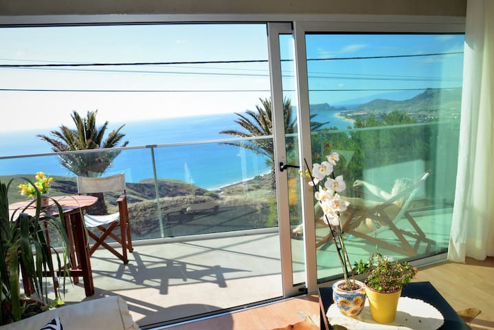 Porto Santo Balcony View House