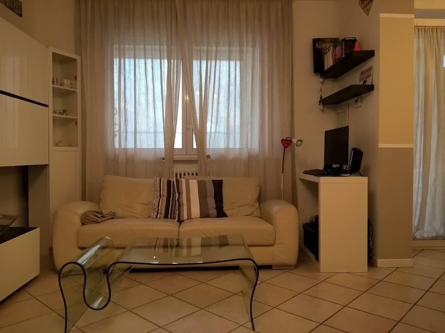 Confortevole divano letto matrimoniale - Comfy twin sofa bed
