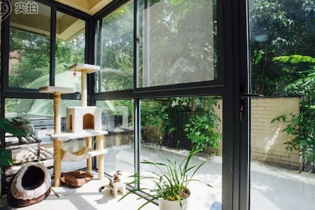 Bright bedroom & green courtyard - 上海 - Appartement