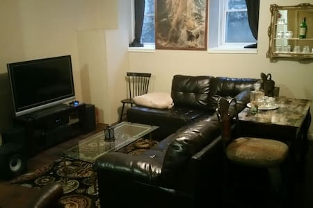 Stylish 1BR Apartment Downtown - Dubuque - Lejlighed