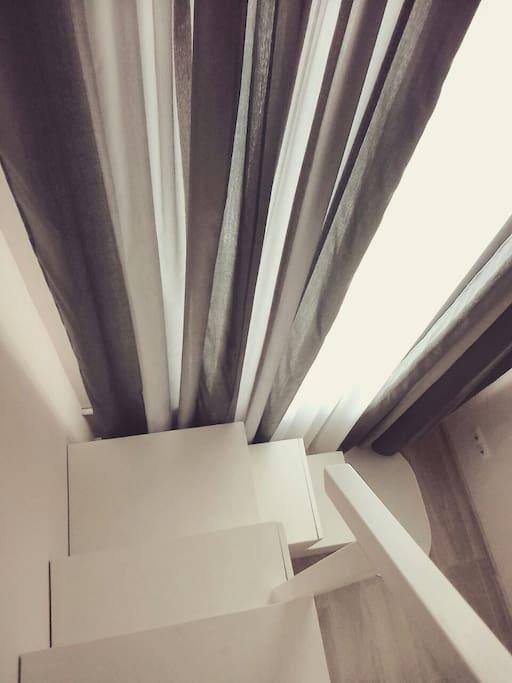 Лестница на кровать